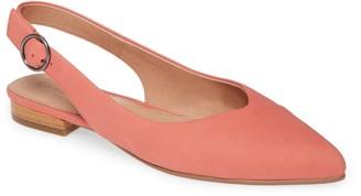 Caslon Lexie Pointed Toe Slingback Flat