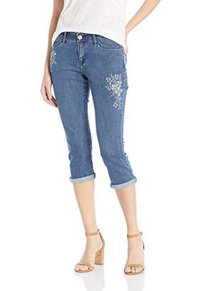 Lee Women's Flex Motion Regular Fit 5 Pocket Capri Jean