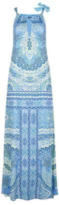 Hale Bob Gayle Keyhole Neckline Maxi Dress
