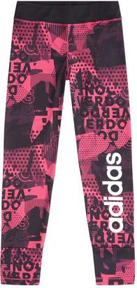 adidas Printed Logo Leggings