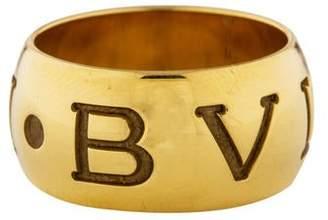 Bvlgari 18K Monologo Ring
