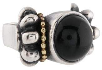 Lagos Onyx Cocktail Ring
