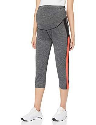 7f686030 Noppies Women's Legging OTB 3/4 Fenna Maternity Sports Trousers, Grey  Melange C246,