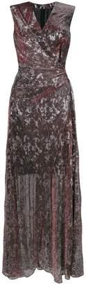 Talbot Runhof Vネック ドレス