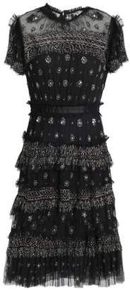Needle & Thread Embellished Embroidered Tulle Dress