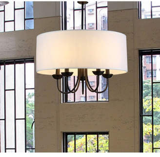 Three Posts Sylvestre 5-Light Drum Chandelier