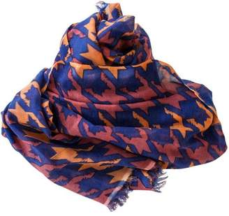 Cats & Ghosts Catstooth Cashmere Scarf