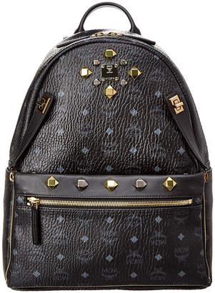 MCM Dual Stark Medium Visetos Backpack