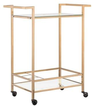 Carolina Cottage Carolina Chair and Table Messina Transitional Rolling Wine Cart