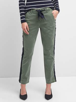 Gap Girlfriend Chinos with Side Lace Detailing