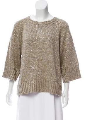 Michael Kors Oversize Linen-Blend Sweater