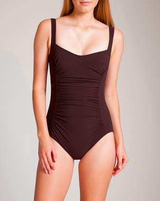 Karla Colletto Basic Square Neck Swimsuit