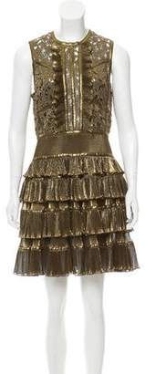 Elie Saab 2017 Ruffle Dress w/ Tags