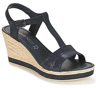 Marco Tozzi DAPER women's Sandals in Blue