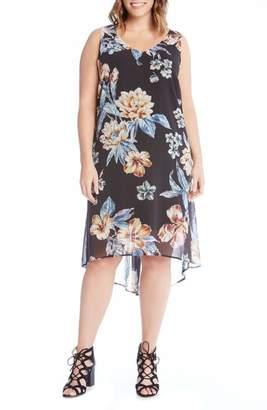 Karen Kane High/Low Sleeveless Dress
