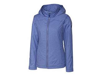 Cutter & Buck Women's Weathertec Wind-Water Resistant Packable Panoramic Jacket