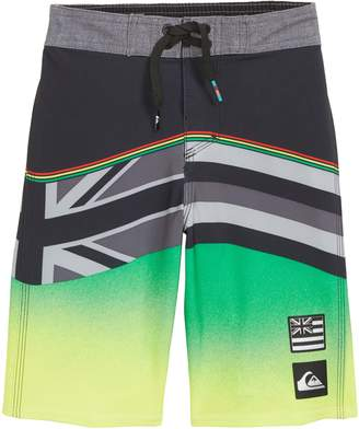 Quiksilver Highline Hawaii Serious Boy Board Shorts