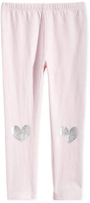 First Impressions Baby Girls Heart-Print Leggings