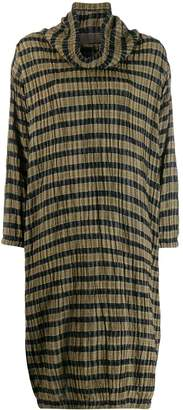 Issey Miyake Pre-Owned 1980's check dress