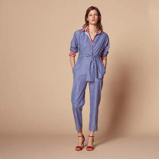 Sandro Stripy jumpsuit