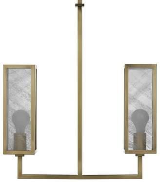 Williams-Sonoma Williams Sonoma Vaughn Double Pendant, Antique Brass