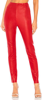 L'Academie Angelica Leather Pants