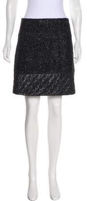 Chanel Metallic Mini Skirt
