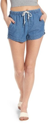 Women's Obey Mimi Shorts $51 thestylecure.com
