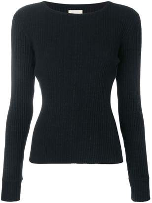 Simon Miller slim fit ribbed knit sweater