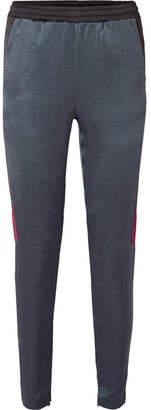Koché - Paneled Satin Track Pants - Navy