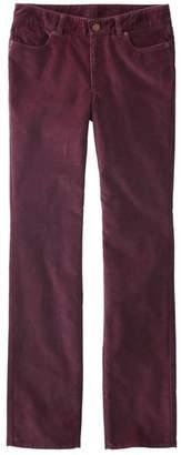 L.L. Bean L.L.Bean Women's Casco Corduroy Pants, Straight-Leg