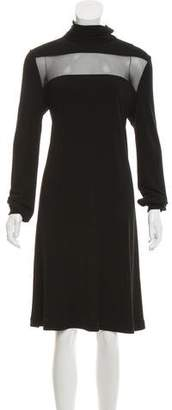 Calvin Klein Collection Long Sleeve Knee-Length Dress w/ Tags