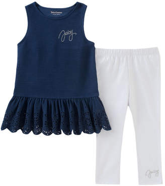 Juicy Couture Ruffled Tank Top & Legging Set
