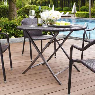 Mercury Row Belton Outdoor Wicker Dining Table
