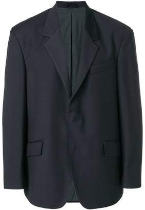 Tonello Cs lined dropped shoulder jacket
