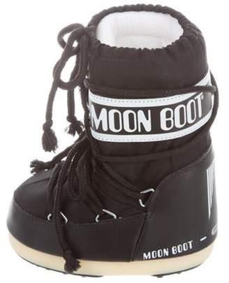 Moon Boot Girls' Snow Boots black Girls' Snow Boots