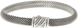 Jai JAI Sterling Silver Mesh Bracelet w/ Sukhothai Clasp