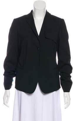 Calvin Klein Collection Notch-Lapel Structured Blazer