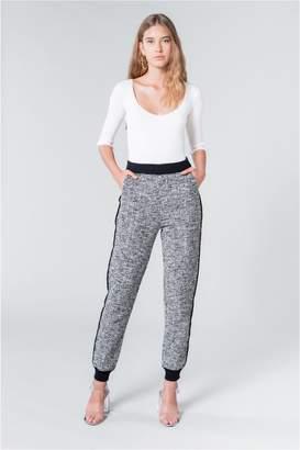 Sonia Rykiel Tweed-Effect Sweatpants.
