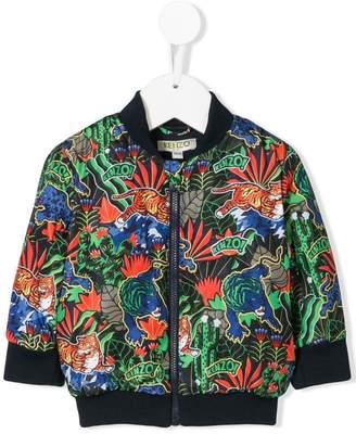 Kenzo (ケンゾー) - Kenzo Kids jungle print bomber jacket