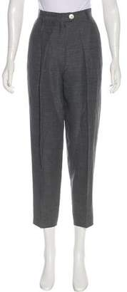 Aspesi High-Rise Straight-Leg Pants
