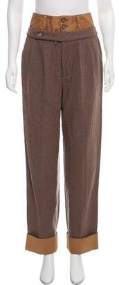 Marc by Marc Jacobs Wool High-Rise Pants
