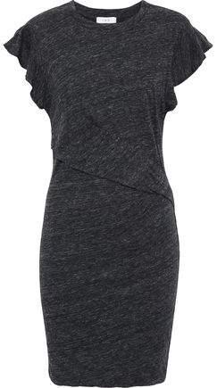 Nanton Mélange Cotton And Modal-Blend Mini Dress