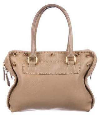 Fendi Vintage Leather Handle Bag