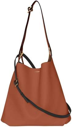 e229b3be6780 Burberry The Leather Grommet Detail Bag