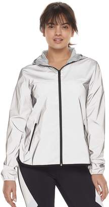Fila Sport Women's SPORT Reflective Zip-Up Woven Jacket