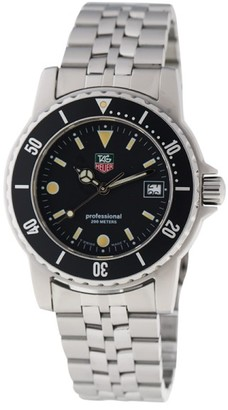 Tag Heuer Professional WD1210 Stainless Steel 35mm Watch $545 thestylecure.com