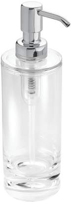InterDesign Eva Soap and Lotion Dispenser Pump, for Kitchen or Bathroom Countertop - /Chrome