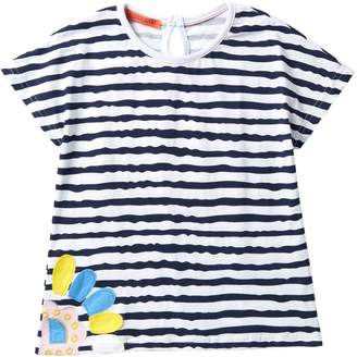 Funkyberry Striped Top (Toddler & Little Girls)