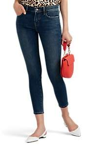 Current/Elliott Women's The High Waist Stiletto Skinny Jeans - Blue